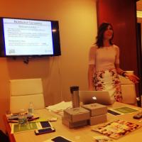 Deborah Klein, MS, RD, Conducts Nutrition Seminar