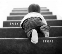 Baby%20steps - Saybrook University's Kirwan Rockefeller on baby steps -- Taking small, incremental steps toward the goal