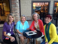 Carrie Phelps (Left) with Colleagues at National Wellness Conference