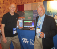 Don%20and%20Fred%20at%20ISNR - Two Saybrook Mind-Body Medicine Faculty Members, Drs. Don Moss and Fredric Shaffer, Teach Heart Rhythms Workshop at 2013 Meeting of International Society for Neurofeedback and Research