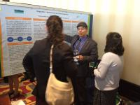 Frank Munoz at Poster Presentation at Association of Professional Chaplains