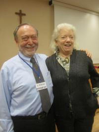 Stephen W. Porges (Researcher/Psychophysiology) and Sue Carter (Field Biologist)