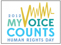 My voice Counts - Human Rights Day