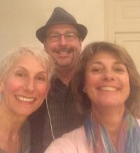 Stephanie Lindsay, Cliff Smyth, and Luann Fortune