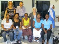 Jerrol Kimmel in Haiti, with Global Trauma Relief Program