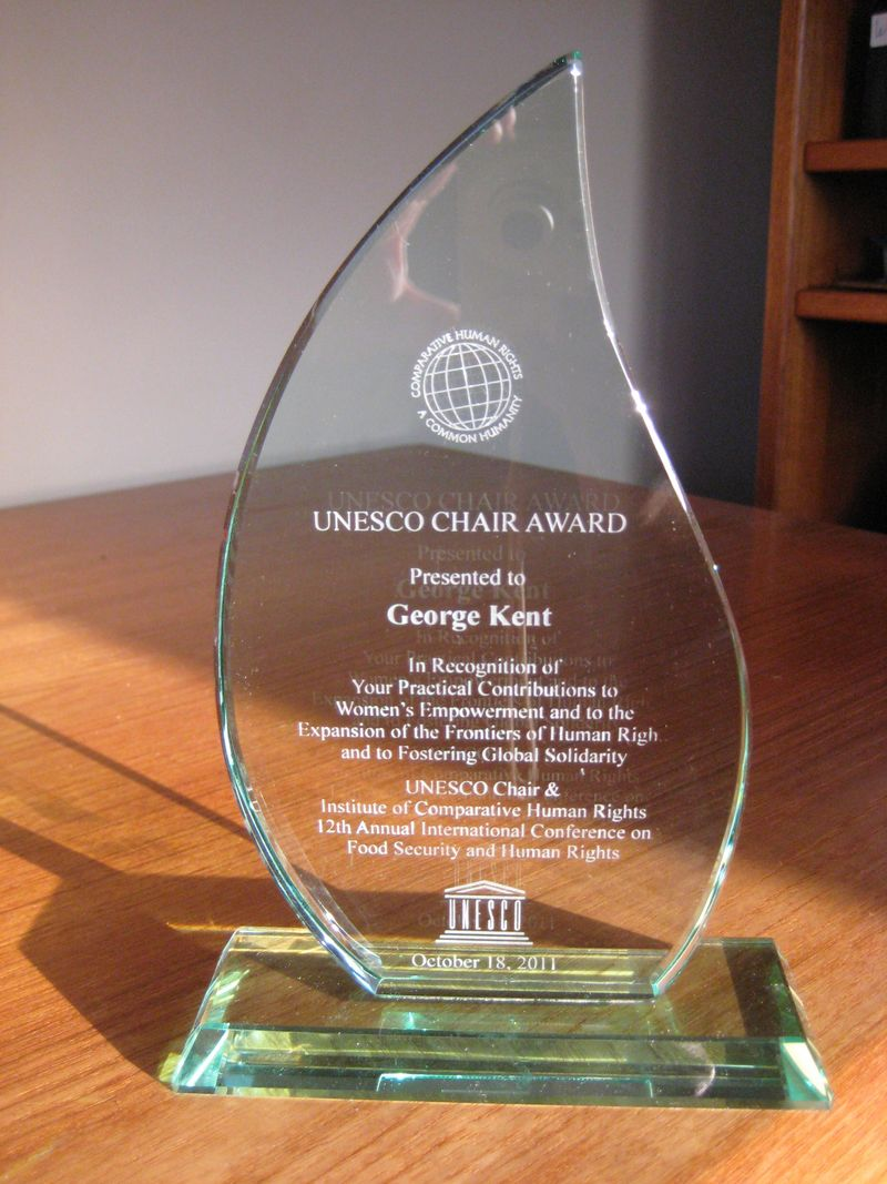UNESCO Chair Award