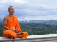 800px Phra Ajan Jerapunyo Abbot of Watkungtaphao  - Yoga calms the schizophrenic mind