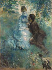 """Auguste Renoir's """"Lovers."""""""