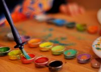 Brush and watercolours - Waxing Existential: The Dangers of the Creative Process, Part One