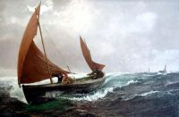 Charles Napier Hemy's Running for Home