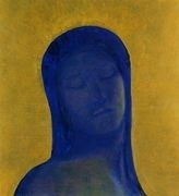Closed Eyes 2, by Odilon Redon