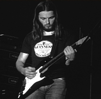 David Gilmour of Pink Floyd in the 1970s.