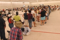 FEMA   14998   Photograph by Mark Wolfe taken on 09 08 2005 in Mississippi - Lining Up to Choose