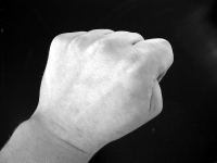 Fist - Understanding domestic abuse can prevent it