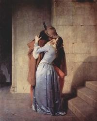 Francesco Hayez's The Kiss (1859)