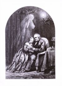 Thomas Nast's illustration for The Ghost.