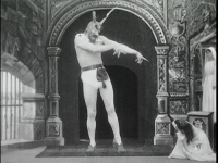 The Devil in a 1901 Georges Méliès film.