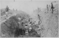 Irrigation ditch under construction at San Carlos Indian Agency%2C Arizona 1 886.%27   NARA   530879 - Wildfires and The Dignity of Risk