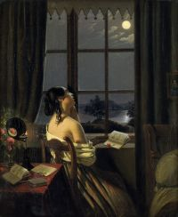 Johann Peter Hasenclever Die Sentimentale c1846 47 - Awakening the Senses: Materializing Our Own Meaning