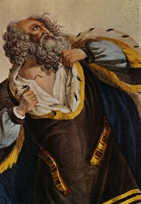 Ludwig Devrient as King Lear, circa 1769.