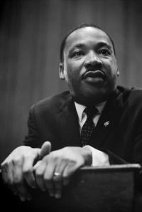 Martin Luther King press conference 01269u edit - Dignity, Personalism, and Humanistic Psychology