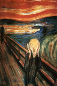 "Munch's classic painting ""The Scream"""