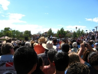President Obama campaigning in New Mexico.