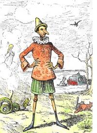 Pinocchio by Enrico Mazzanti (1883)