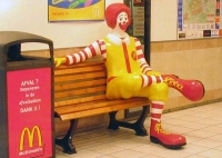 Ronald%20McDonald%20sitting - Corporate personhood, the Turing test, and free speech