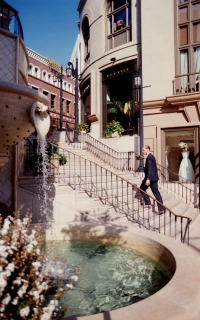 Spanish Steps Rodeo Drive Beverly Hills - I Took a Walk
