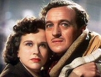 "Kim Hunter and David Niven in ""A Matter of Life and Death"""
