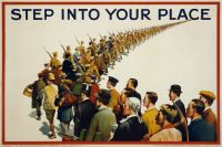 British WWI Recruiting Poster, 1915.