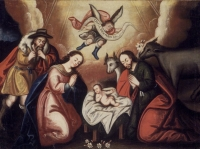 The%20Nativity%20 %20Cuzco%20School - The Rebirth of Reality: An Existential Interpretation of Christmas