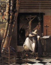 "Vermeer's ""The Allegory of Faith"""