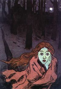 "Maria Yakunchikova's ""Fear"" 1893-95."