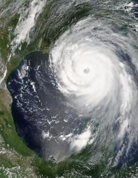 Hurricane Katrina August 28 2005 NASA - Why We Need New Thinking about Crisis Management