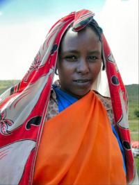 Photo of a Kenyan woman courtesy of Wikipedia.org.