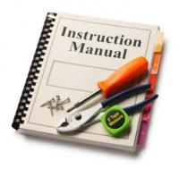 instruction manual - Sustainability Starts When You Throw Away the Instruction Manual