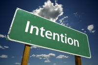intention sign  sri - The Power of Intention to Spark Evolutionary Change